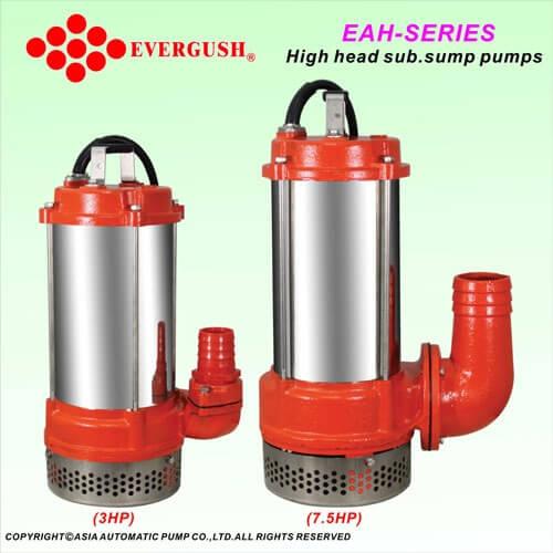 Bơm chìm áp lực cao Evergush model EAH