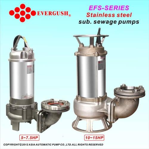 Bơm chìm evergush model EFS
